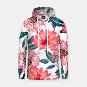 Thumbnail image of Yours Florally Cotton hoodie, Live Heroes