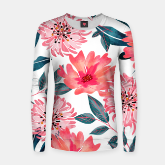 Miniaturka Yours Florally Woman cotton sweater, Live Heroes
