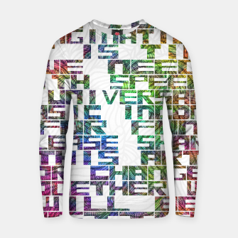 It is time Cotton sweater thumbnail image