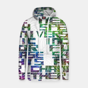 Thumbnail image of It is time Cotton hoodie, Live Heroes