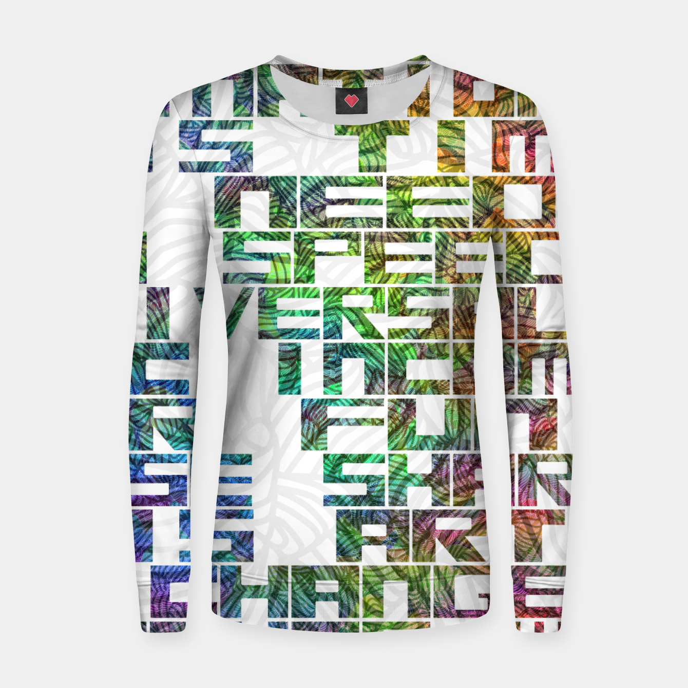 Image of It is time Woman cotton sweater - Live Heroes
