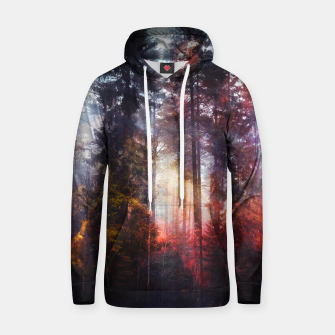 Thumbnail image of Warm Fuzzy Feelings Cotton hoodie, Live Heroes