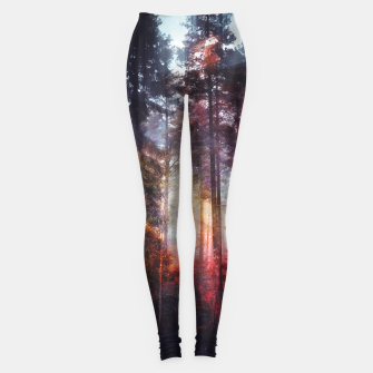 Thumbnail image of Warm Fuzzy Feelings Leggings, Live Heroes