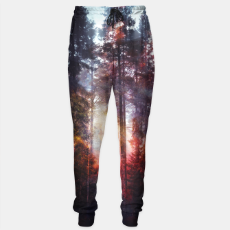 Thumbnail image of Warm Fuzzy Feelings Cotton sweatpants, Live Heroes