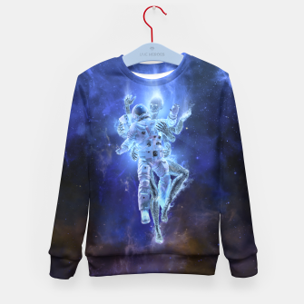 Thumbnail image of Deep Space Embrace Kid's sweater, Live Heroes