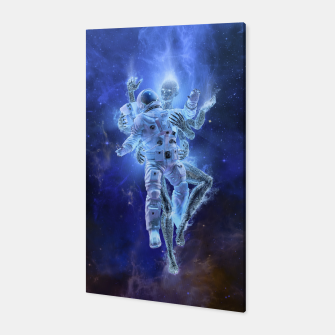 Thumbnail image of Deep Space Embrace Canvas, Live Heroes