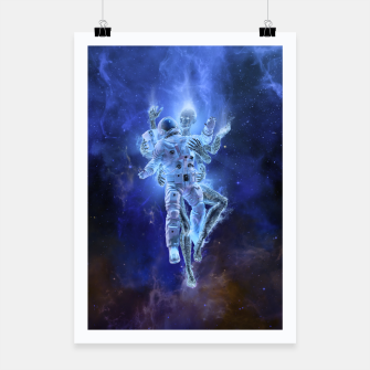 Thumbnail image of Deep Space Embrace Poster, Live Heroes
