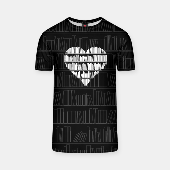 Thumbnail image of Book Lover T-shirt, Live Heroes