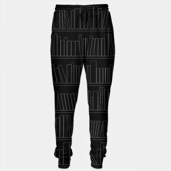 Thumbnail image of Book Lover Cotton sweatpants, Live Heroes