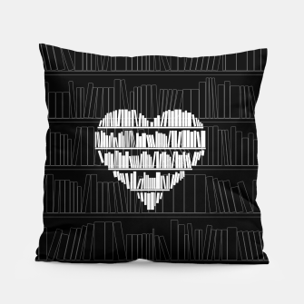 Thumbnail image of Book Lover Pillow, Live Heroes