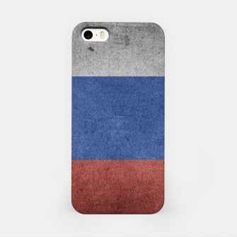 Miniaturka  Grunge Russia Flag iPhone Case, Live Heroes