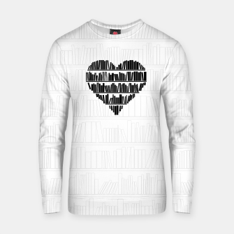 Thumbnail image of Book Lover II Cotton sweater, Live Heroes