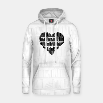 Thumbnail image of Book Lover II Cotton hoodie, Live Heroes