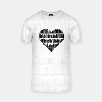 Thumbnail image of Book Lover II T-shirt, Live Heroes