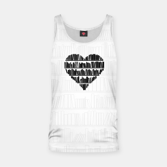 Thumbnail image of Book Lover II Tank Top, Live Heroes