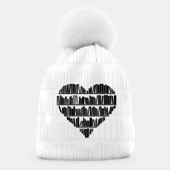 Thumbnail image of Book Lover II Beanie, Live Heroes