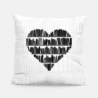 Thumbnail image of Book Lover II Pillow, Live Heroes