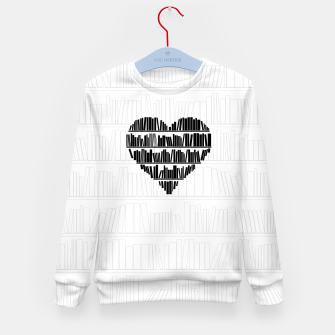 Thumbnail image of Book Lover II Kid's sweater, Live Heroes