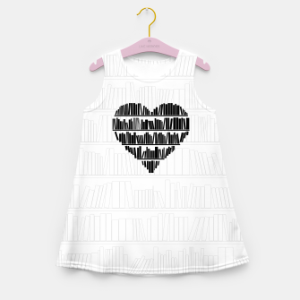 Thumbnail image of Book Lover II Girl's summer dress, Live Heroes