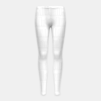Thumbnail image of Book Lover II Girl's leggings, Live Heroes