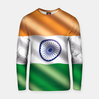 Miniaturka  India Waving Flag Cotton sweater, Live Heroes