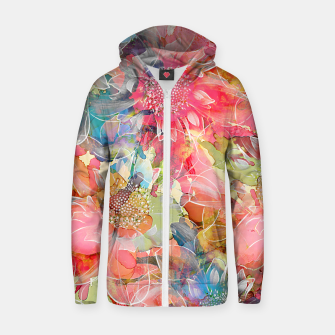 The Smell of Spring Cotton zip up hoodie imagen en miniatura