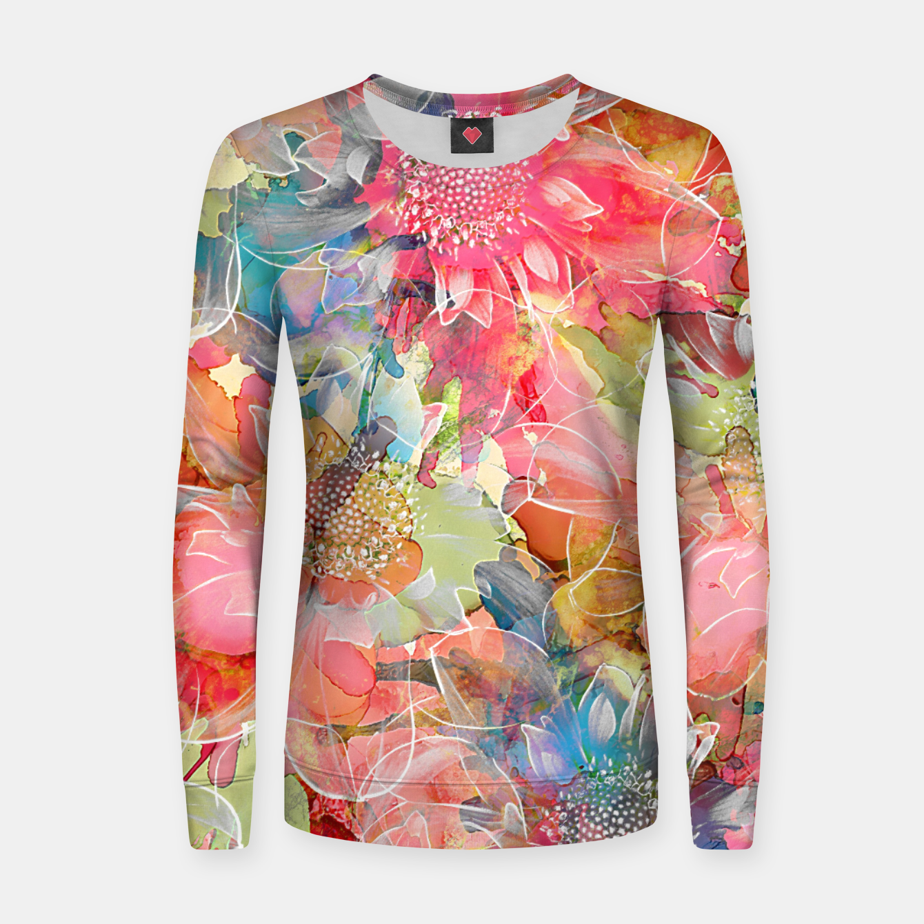 Imagen de The Smell of Spring Woman cotton sweater - Live Heroes