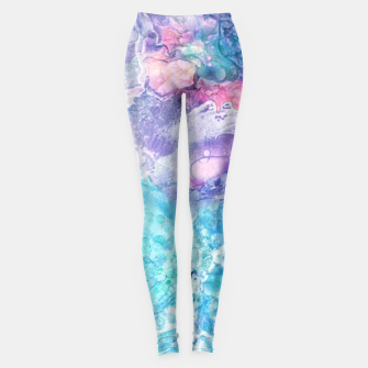 Thumbnail image of Floral Fantasy Leggings, Live Heroes