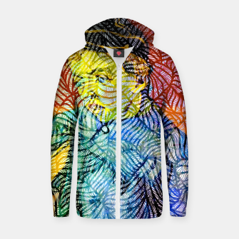 vg Cotton zip up hoodie thumbnail image
