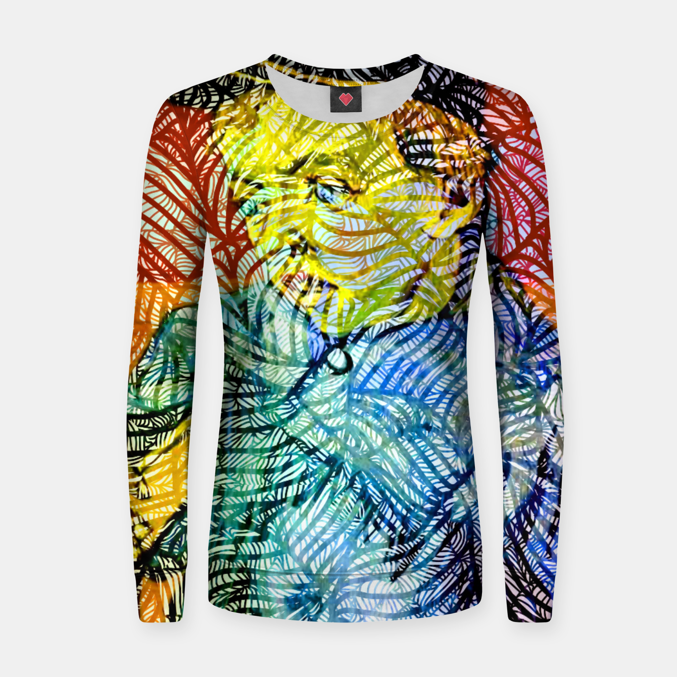 Image of vg Woman cotton sweater - Live Heroes