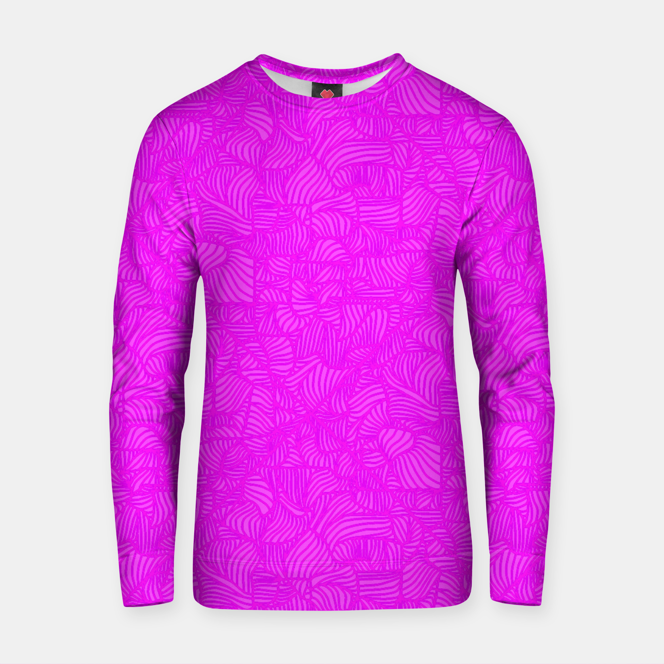 Image of pink Cotton sweater - Live Heroes
