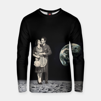 Miniatur Kiss me on the moon Cotton sweater, Live Heroes