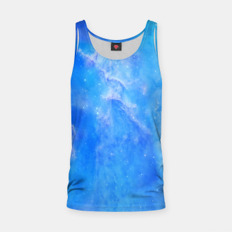 Thumbnail image of Galaxy blue Tank Top, Live Heroes