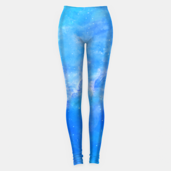 Miniature de image de Galaxy blue Leggings, Live Heroes