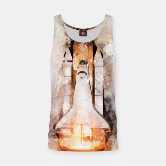 Thumbnail image of Space Shuttle Tank Top, Live Heroes