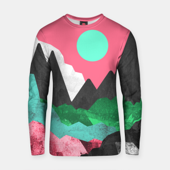Miniatur Rocks of the landscape Cotton sweater, Live Heroes