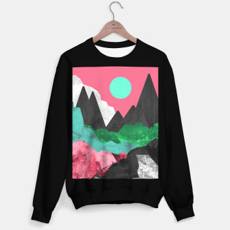 Miniatur Rocks of the landscape Sweater regular, Live Heroes