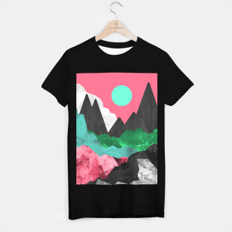Miniatur Rocks of the landscape T-shirt regular, Live Heroes