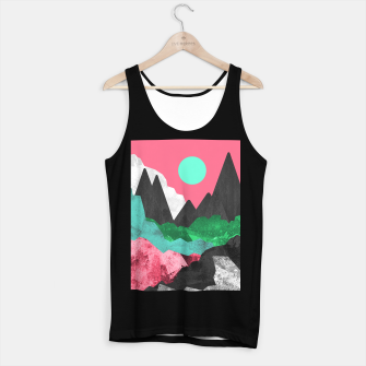 Miniatur Rocks of the landscape Tank Top regular, Live Heroes