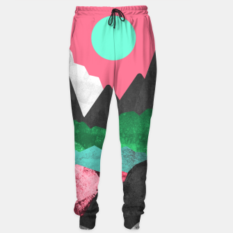 Miniatur Rocks of the landscape Cotton sweatpants, Live Heroes