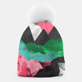 Miniatur Rocks of the landscape Beanie, Live Heroes