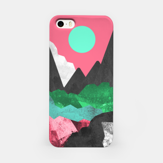 Miniatur Rocks of the landscape iPhone Case, Live Heroes