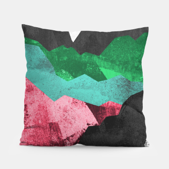 Miniatur Rocks of the landscape Pillow, Live Heroes