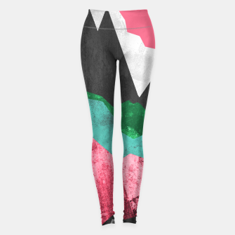 Miniatur Rocks of the landscape Leggings, Live Heroes