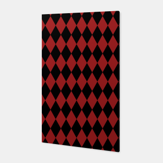 Thumbnail image of Jester Black and Red Canvas, Live Heroes