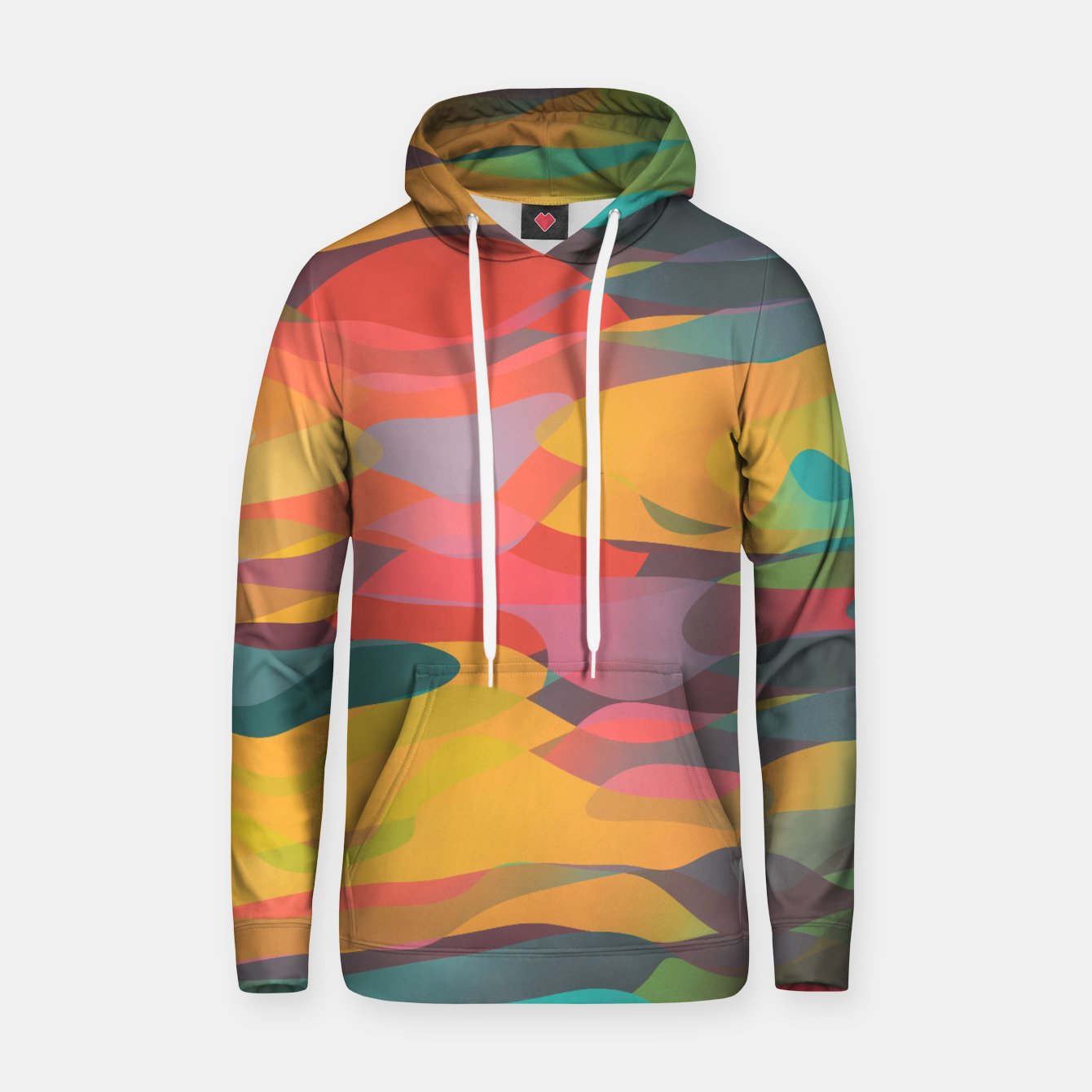 Image of Fairytale Sunset Cotton hoodie - Live Heroes