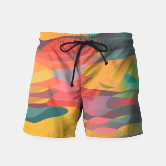 Fairytale Sunset Swim Shorts thumbnail image
