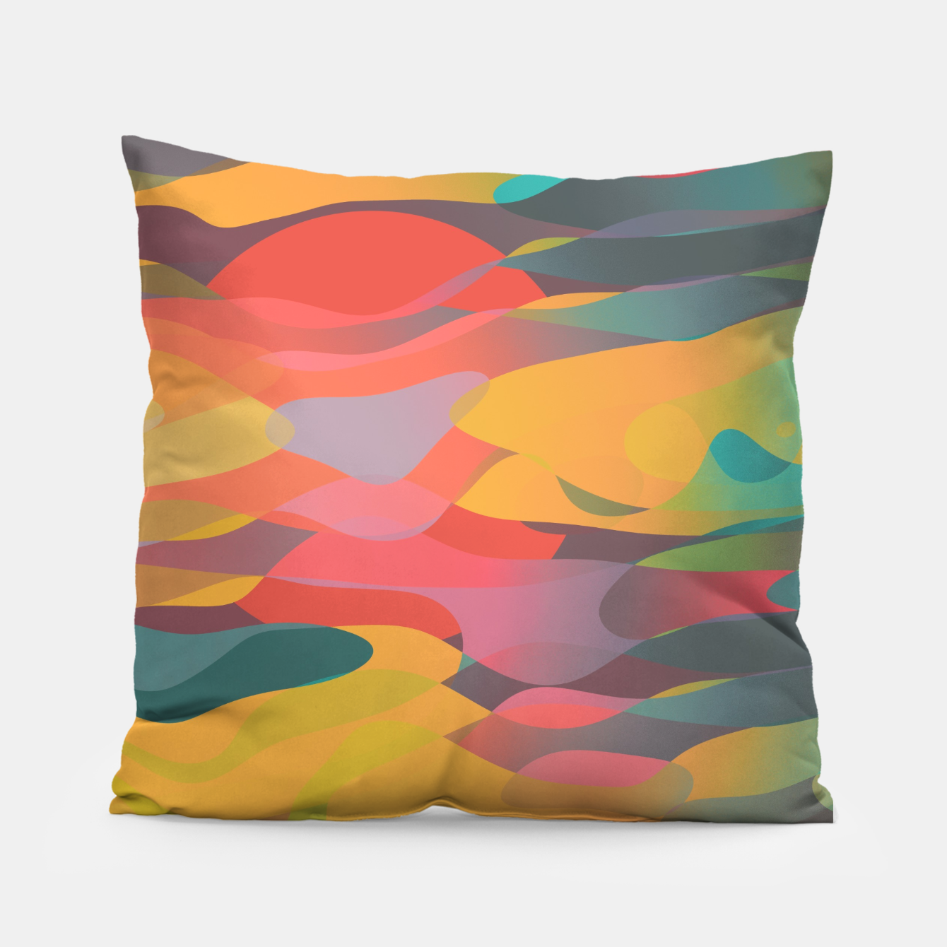 Image of Fairytale Sunset Pillow - Live Heroes