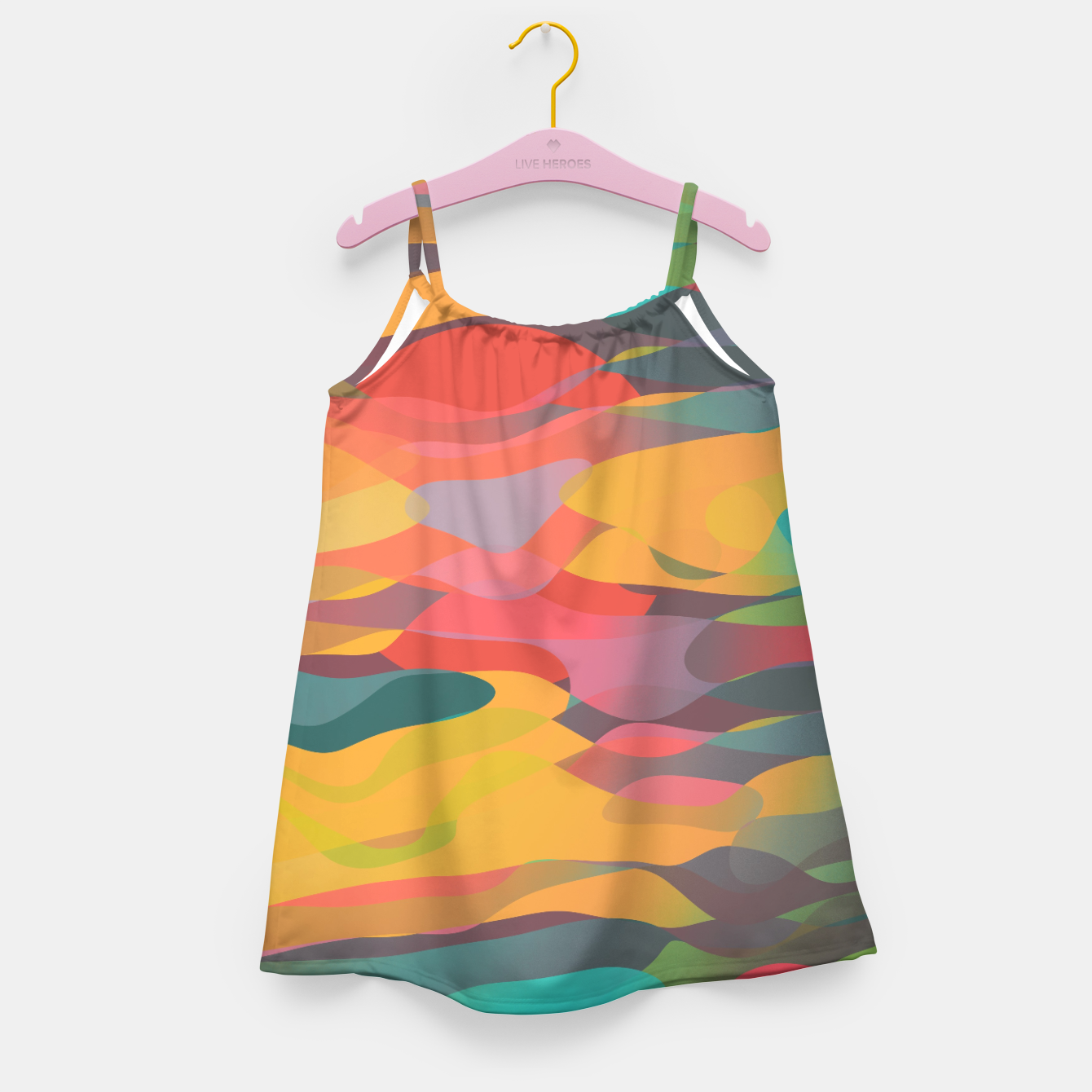 Image of Fairytale Sunset Girl's dress - Live Heroes