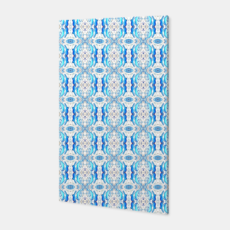 Thumbnail image of Exotic Blue Pattern Canvas, Live Heroes